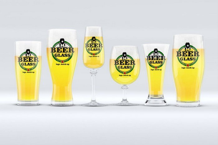 Beer Glasses Mock-Up
