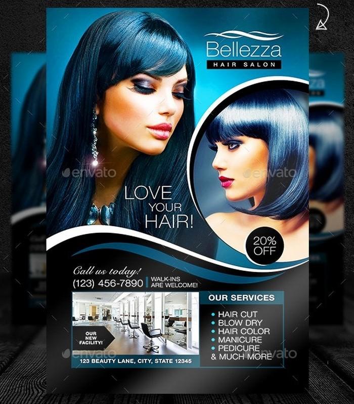 Bellezza Beauty Salon Promotional Template
