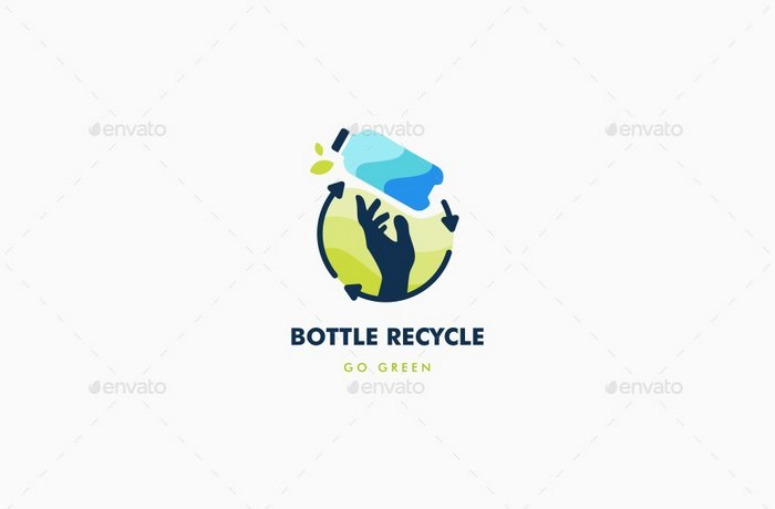 Bottle Recycle Logo