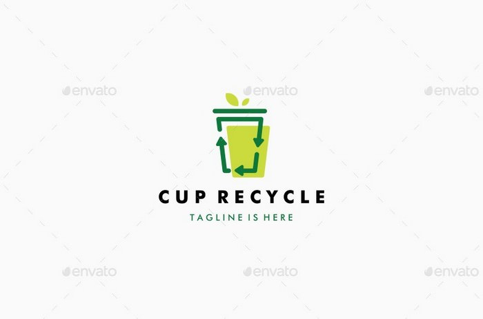 Cup Recycle Logo