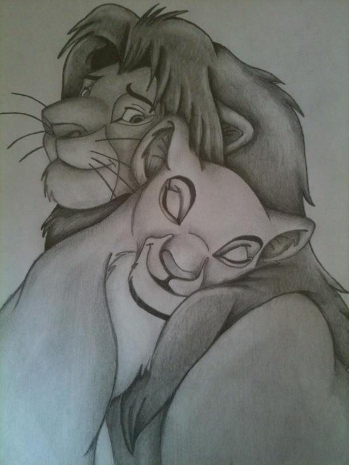 Disney Simba and Nala