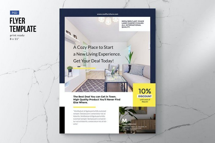 Elegant Furniture & Interior Flyer