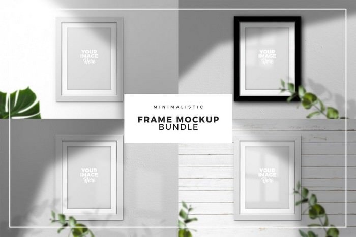 Frame Mockup Bundle