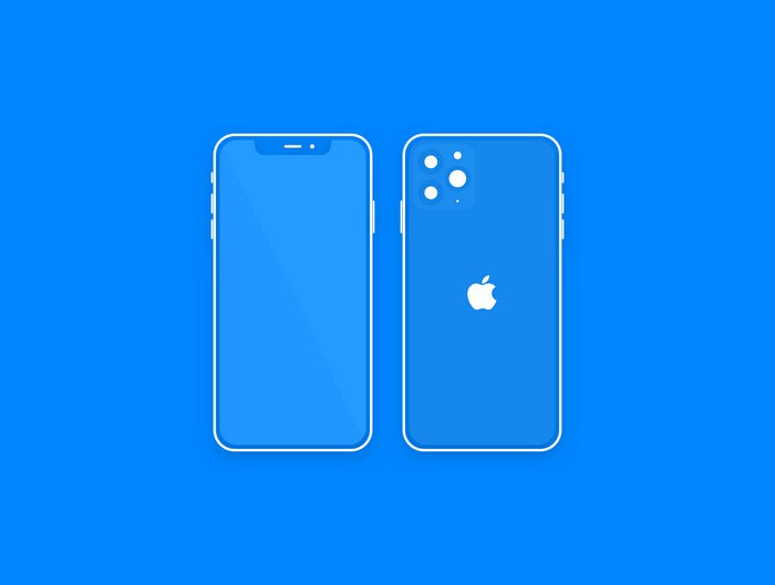 Minimal Mockup iPhone 11 Pro