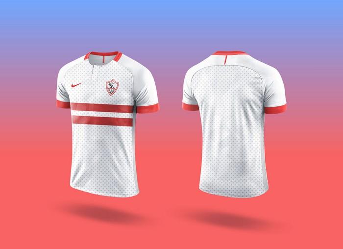 Sports Team Soccer Jersey Mockup
