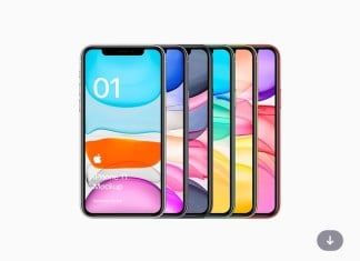 Freebie iPhone 11 Mockup