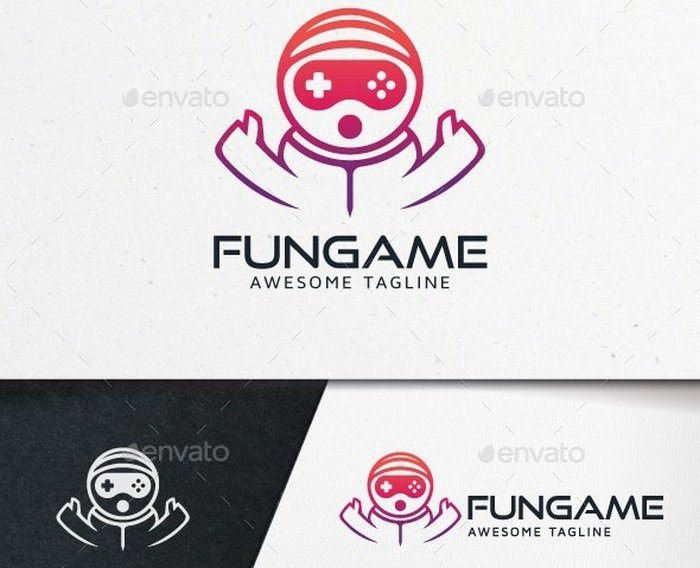 Fun Game Logo Template