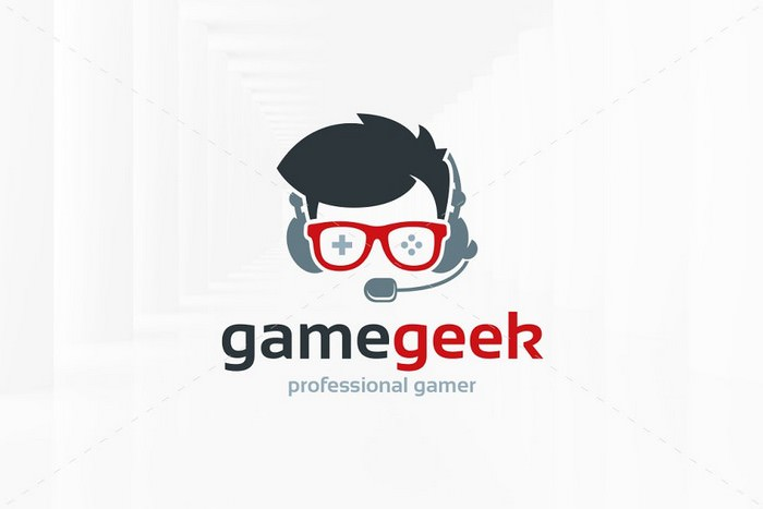 Game Geek Logo Template