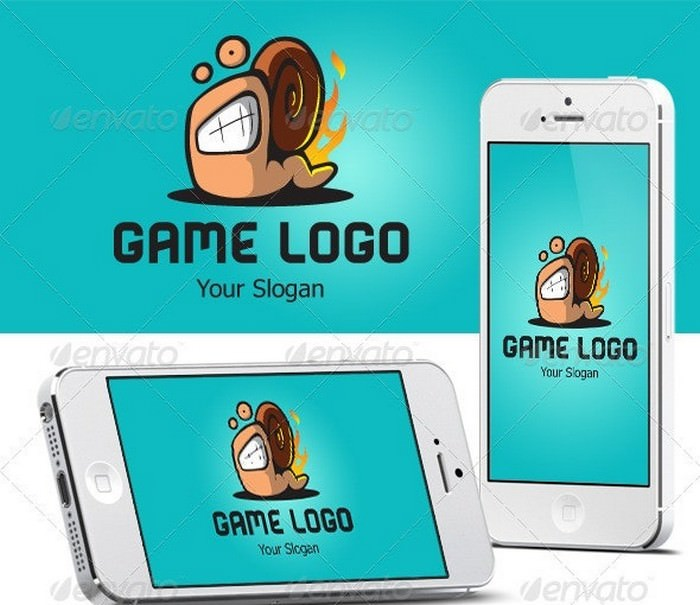Game Logo Snail Speed