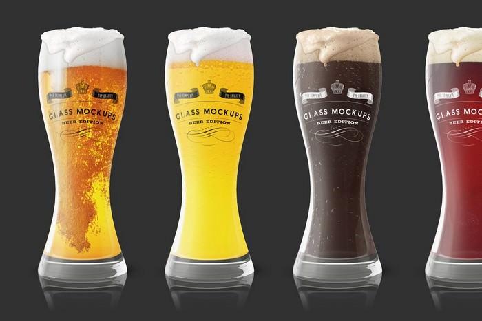 Beer PSD Mockup