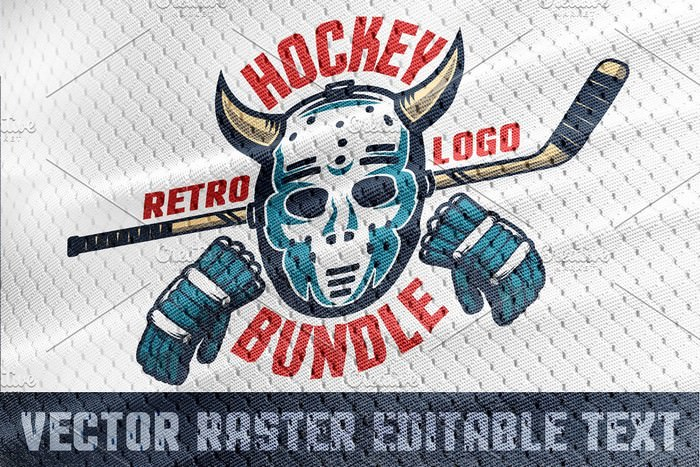 Hockey Emblem Retro Bundle