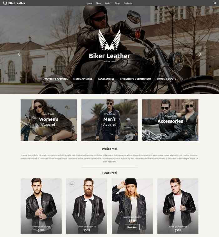 Leather Apparel Store