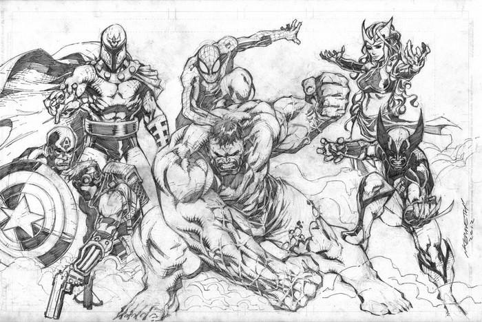 Marvel Fanart A