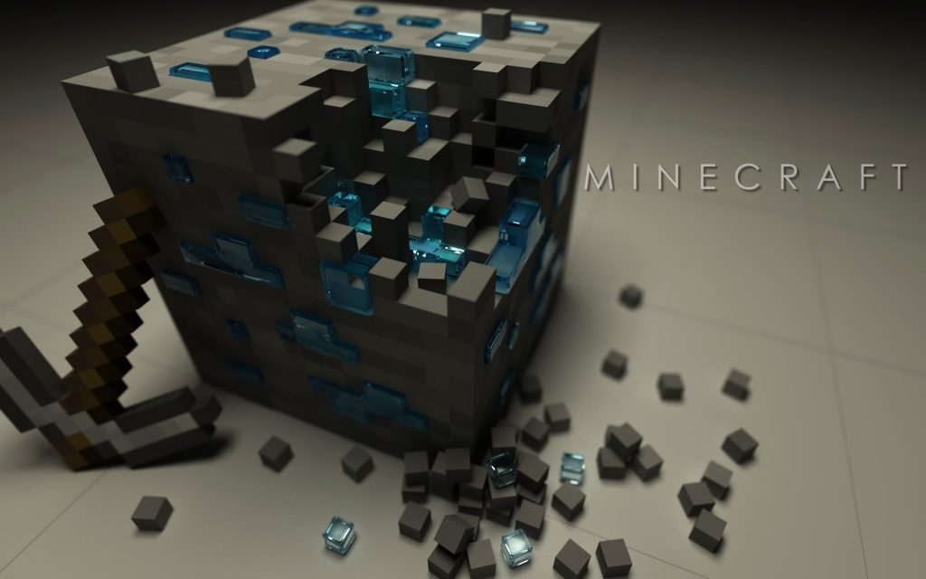 Minecraft Block Box Background