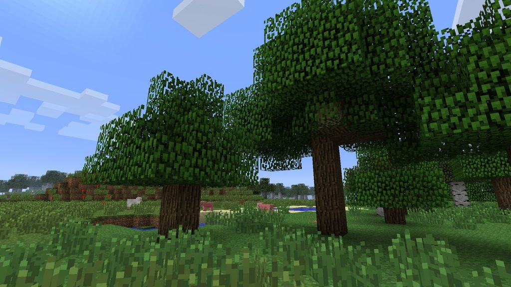 Minecraft Forest Backgrounds