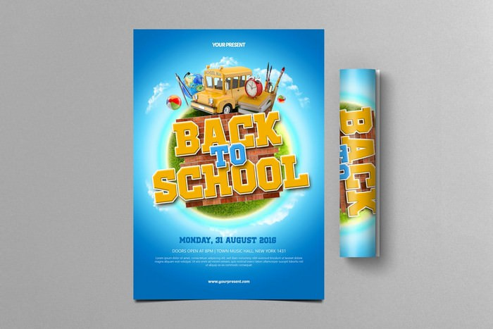 Monday Back To School Flyer