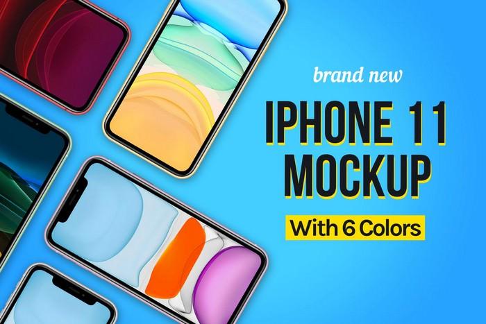 New iPhone 11 Mockup