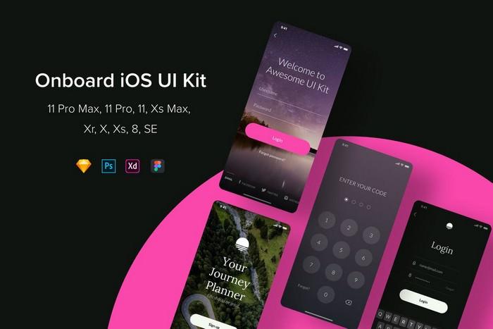 Onboard iOS UI Kit