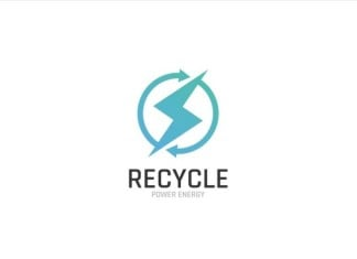Power Energy Recycle Logo