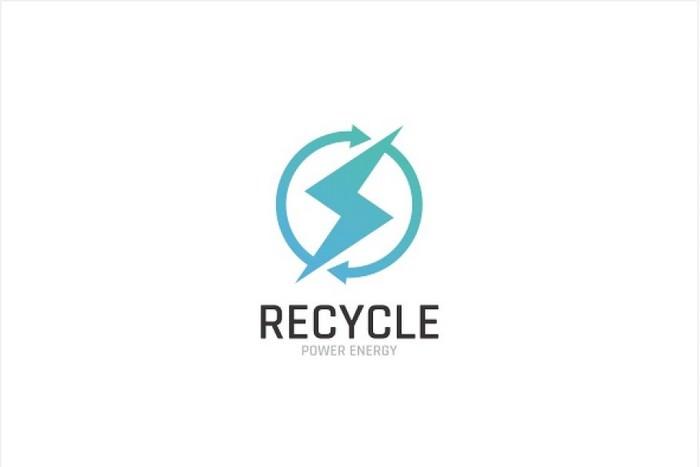 Power Energy Recycle Logo