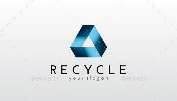 Recycle Logo Template