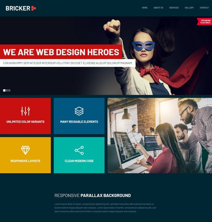Responsive Website Templates for Business