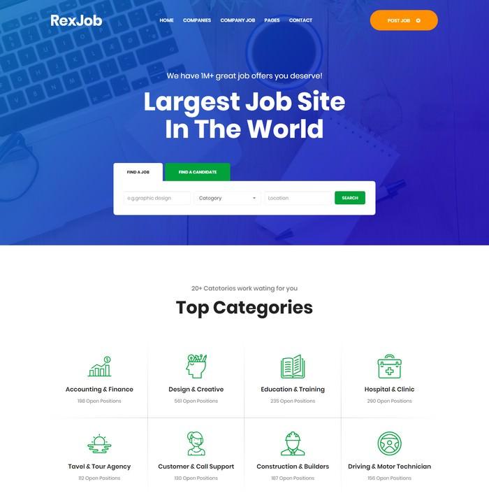 Rexjob-Job Portal