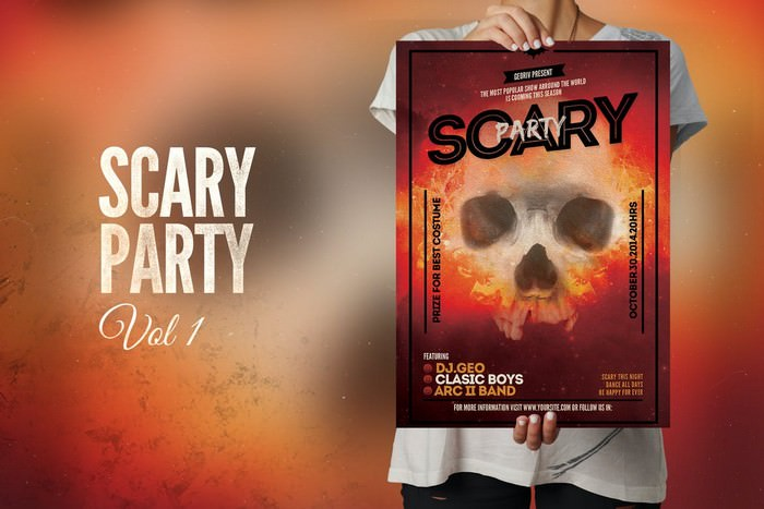 Scary Party Flyer