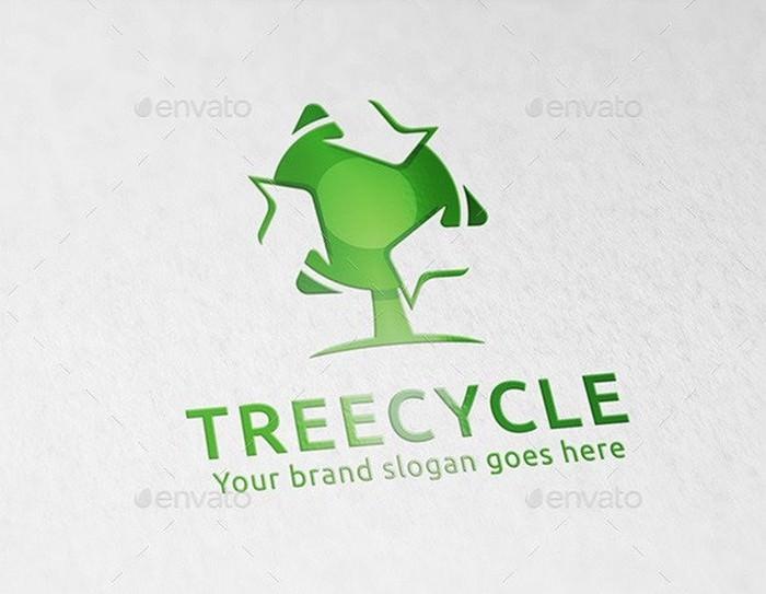 Tree Recycle Logo