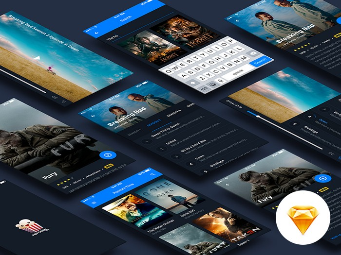 Cinema UI Kit