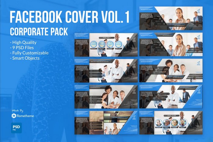 Corporate Facebook Cover YR