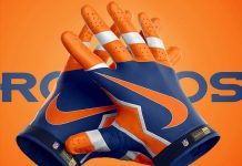 Football Sports Gloves Mock-ups