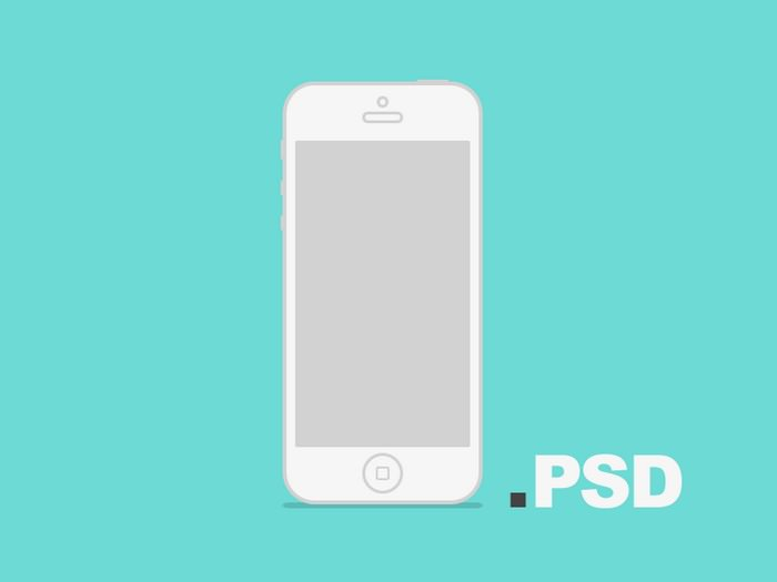 Minimal Iphone Psd