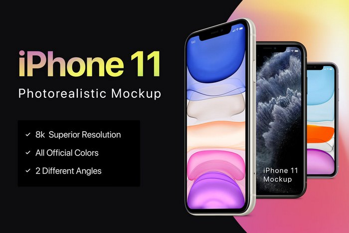 New iPhone 11 Mockup