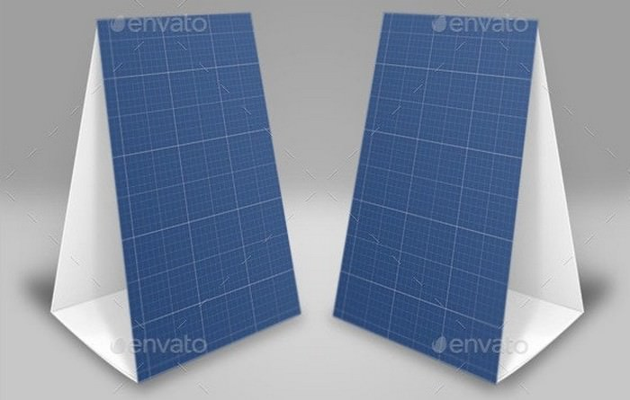 Photo Realistic Table Tent Mock-Up