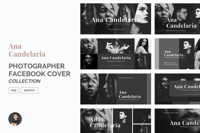 Photographer Facebook Cover Pack