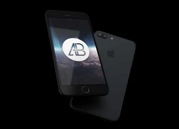 Realistic iPhone 7 Plus Mockup Pack