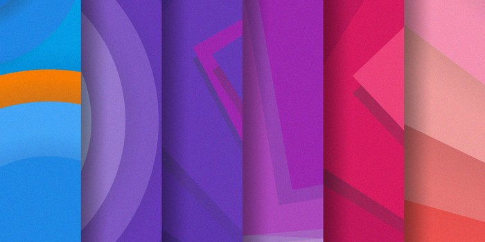 Set of 30 Material Design Backgrounds