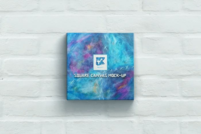 Square Canvas Mock-up