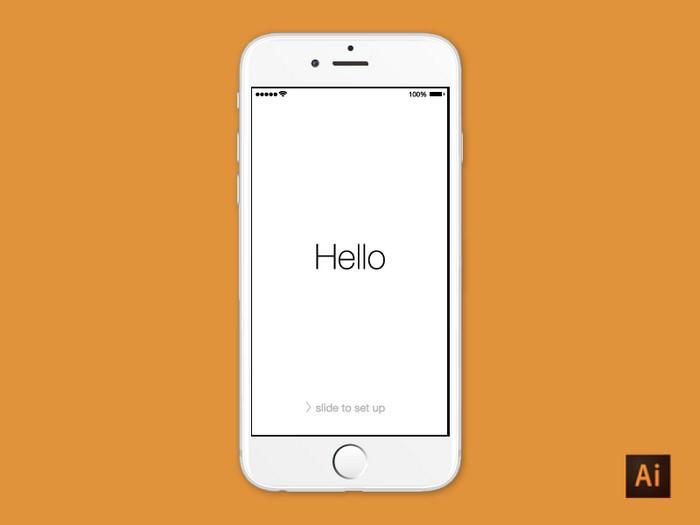 iPhone 6 - Illustrator