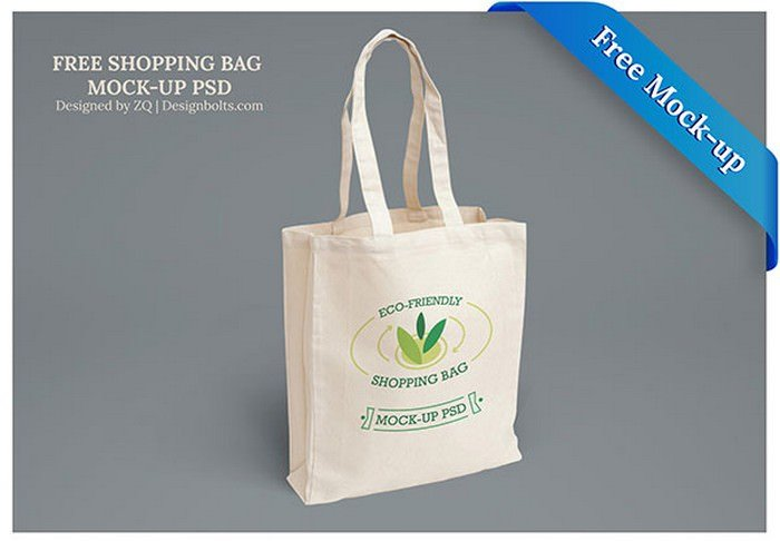 Eco-Friendly Shopping Bag Mock-up