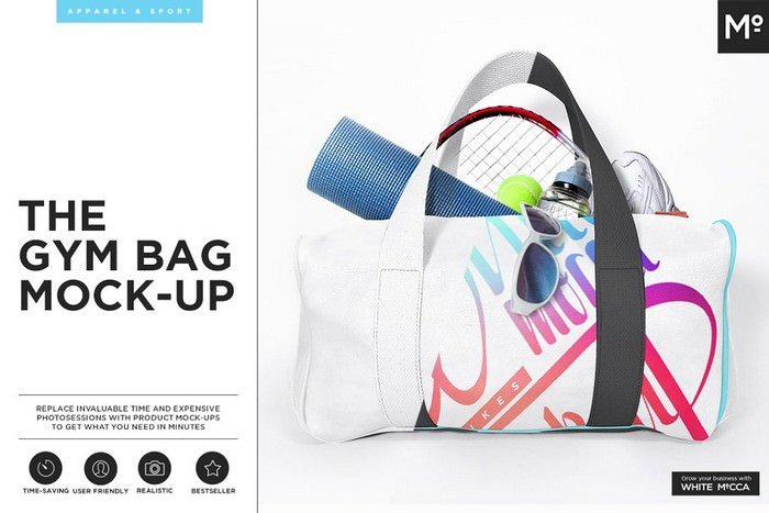 Gym Bag Mock-up