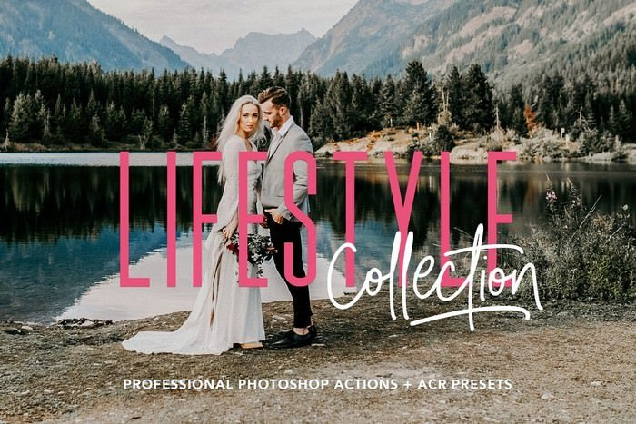 Lifestyle Photoshop Action