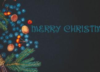 Merry Christmas HD Desktop Wallpaper-2560 × 1440