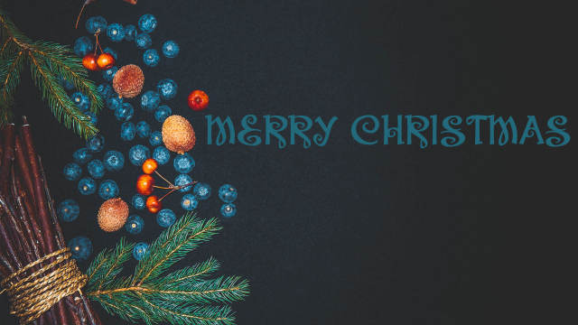 Merry Christmas HD Desktop Wallpaper-2560 × 1440