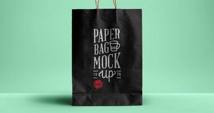 Psd Paper Bag Mock-up