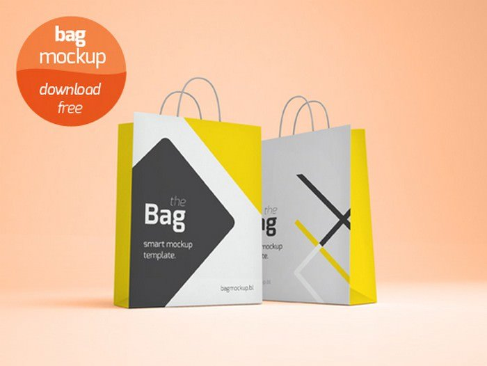 Shopping PSD Mock-up