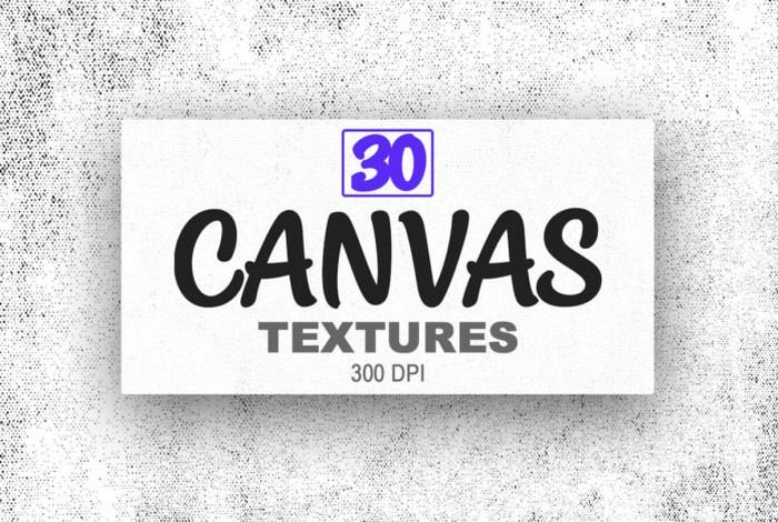 30 Free Canvas Textures