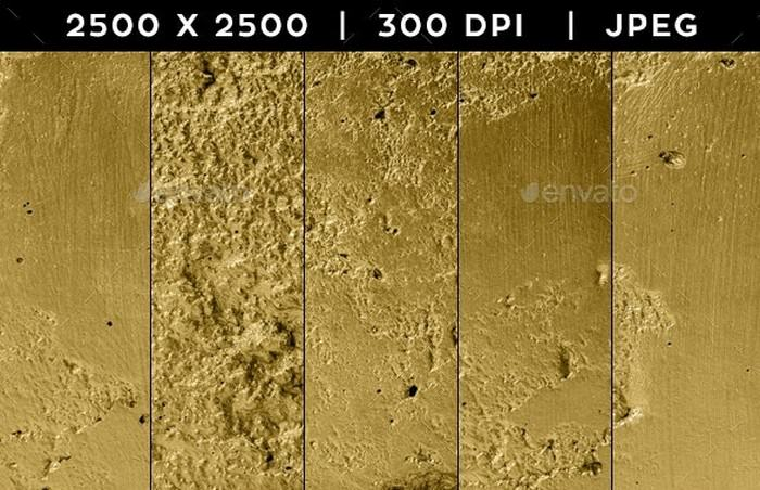 5 Gold texture