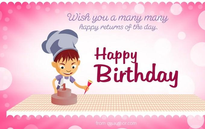 Beautiful Birthday Greetings Card
